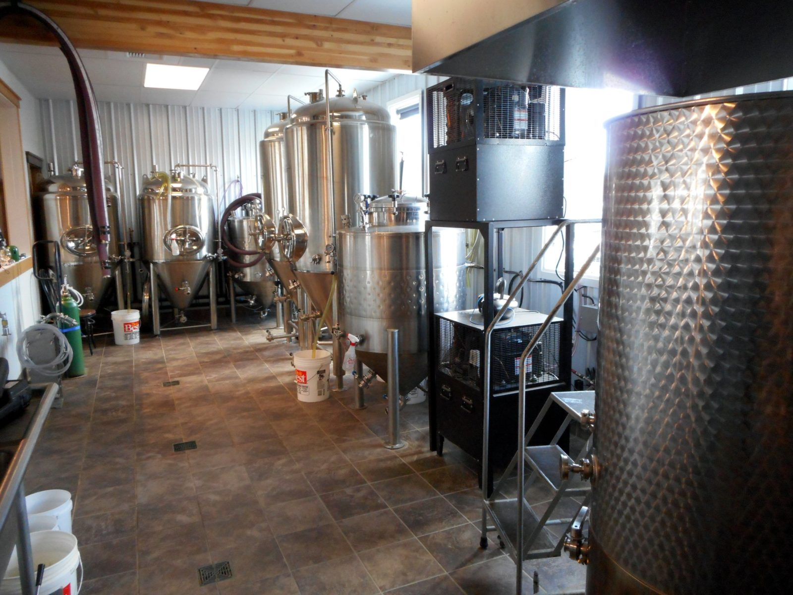 Backslope Brewing Equipment