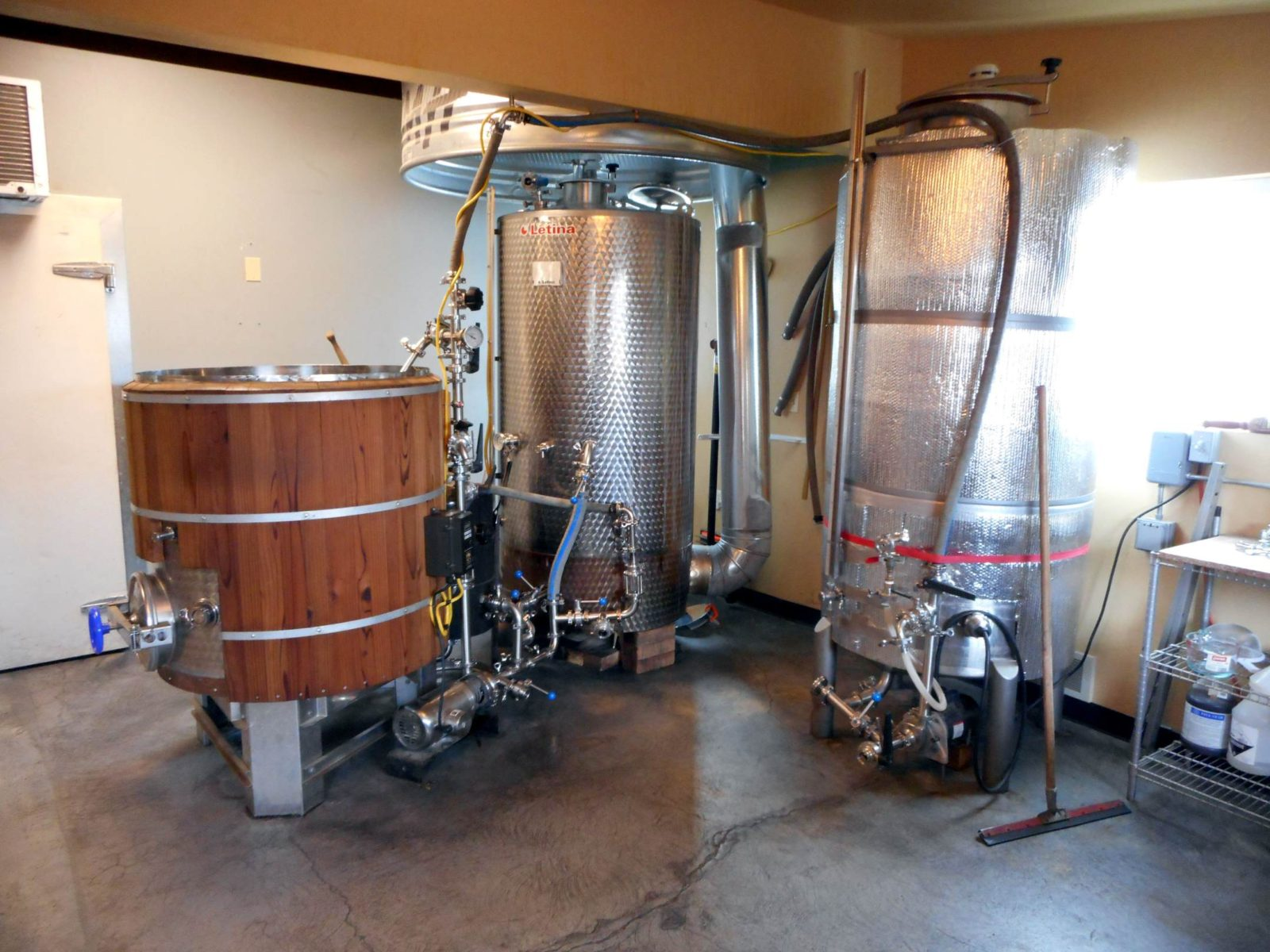 Bonsai Brewing Project's Brewhouse
